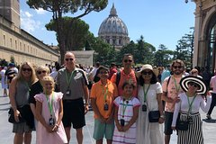 Skip The Line Private Vatican & Sistine Chapel Tour With Kids w Hotel P