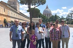 Skip the Line Rome Vatican And Sistine Chapel Tour with Kids & Hotel Pi