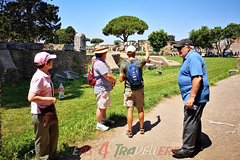 Ostia Antica archeological park and lunch at