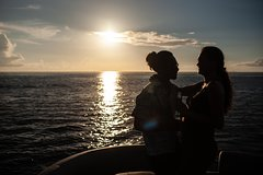 Private Sunset & Lagoon Tour on a Boat with a Slide for Friends & Families