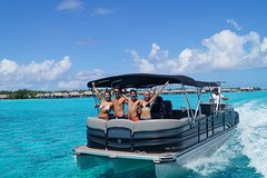 Private Party & Snorkeling Tour on an Unique Bar Boat on Bora Bora's Lagoon