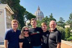 Exclusive Private Vatican Sistine Chapel Tour St. Peter Basilica w Hotel Pi