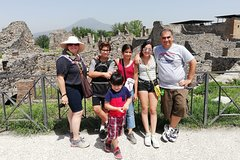 Skip the Line Rome to Pompeii Private Day Trip Hotel Pickup & Lunch at