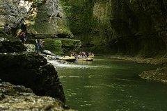 Martvili Canyon - Prometheus Caves - The magical creations of western Georgia