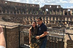 Rome Fullday with Driver and Tour Guide Skip-The-Line Tickets and Lunch Inc