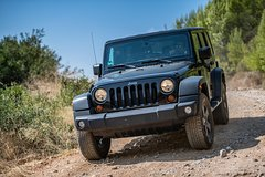 4x4 Jeep Mountain Driving