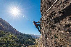 Half Day Climbing in Queenstown using Via Ferrata
