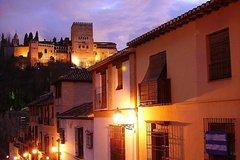 Imagen Excursión a pie de noche por Granada con tapas: Albaicín y Sacromonte