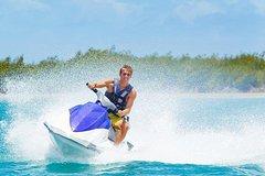 Fiji Jet Ski Safari Tour to Beachcomber Island