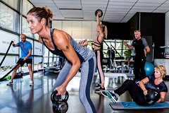 High intensity circuit training at Fit Fast