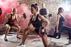 60-minute workout body pump at ALL IN Fitness and Health