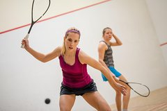 1 hour squash training and explanation or court rental at Sportcentrum Utrecht