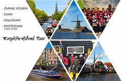 EXQUISITE HOLLAND TOUR (Zaanse Schans - Edam - Volendam - Amsterdam Canal Tour)