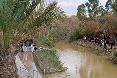 Jordan River (Qasr al Yahud), Bethlehem, Jericho and Dead Sea tour from Tel Aviv