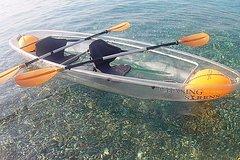 Chasing Syrens Transparent Kayak Winter Tours