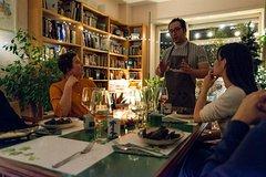 Homemade Italian dinner and natural wine pairing in Milan