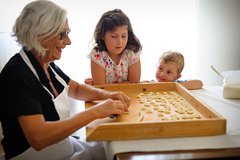 Young Italian Chefs: Kids' Pasta Class at a Cesarinas home in Milan