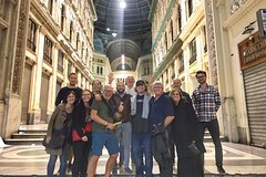 Naples by Night Food Tour with Wine Tasting & Visit of Decumani and Anc