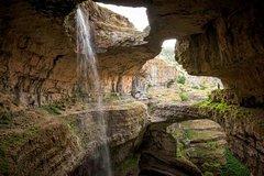Baatara Gorge Waterfall, Jeita Grotto and Byblos Tour