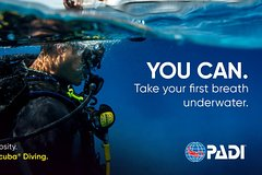 Aruba PADI Discover Scuba Diving Program Non Certified Divers