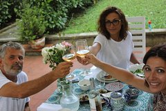 Traditional Persian dinner in Tuscany