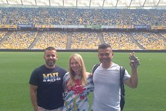 Kiev NSC Olympic Stadium Tour