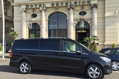 Transfer with private driver in any italian airport, train station, port.