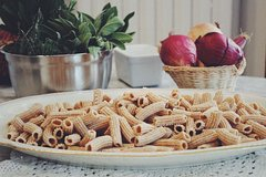 Private Homemade Pasta Making and Traditional Italian Meal in a Family Vill