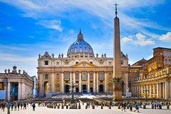 Official Private 3 Hour Vatican Tour with private 1 way transfer