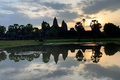 Ancient Temples Explorer with sunrise by Tuk Tuk