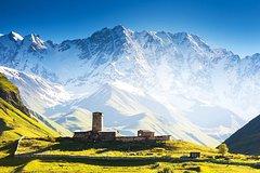 2day tour-Fascinating Svaneti-Mestia-Ushguli-Shkhara- from Batumi 4WD offroad