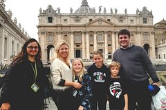 Skip-the-line Kids Tour of The Vatican Sistine Chapel Tour & St.Peters