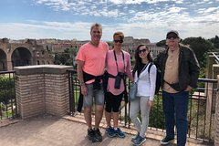 Skip-the-line Semi Private Tour Colosseum, Roman Forum & Ancient Rome