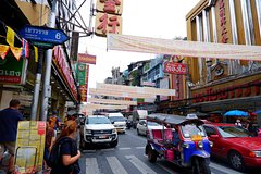Private  Bangkok Golden temple and China Town Day Tour by public transportation
