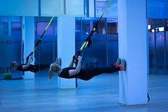 Active TRX training in small groups at bbb health boutique