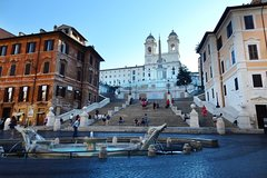 Smooth wake up with cappuccino through the Rome Piazzas and Fountains