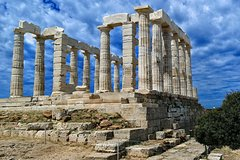 Cape Sounio Poseidon Temple (5 hours)- Day or Evening Sunset tour