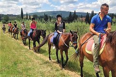 Private Horseback Riding and wine Exp in Tuscany