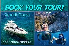 Amalfi Coast boat ride & snorkel