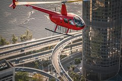 Private Helicopter Scenic Tour of Brisbane - 25min