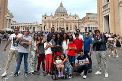 Vatican Museums and St. Peters Basilica with Hotel Pickup
