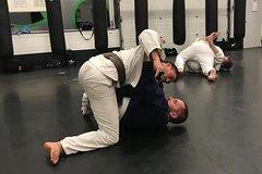 Group lesson Jiu Jitsu full of fun fighting techniques at Unity99