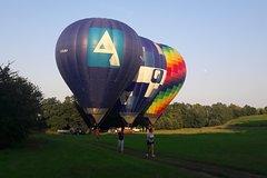 Milan hot air balloon flight Monday-Friday afternoon