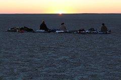 Makgadikgadi Pans Overnight:sleep under the stars  from kasane