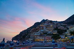 From Sorrento: Positano Evening tour with dinner