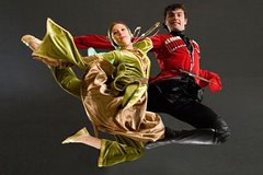 Folk dance with Georgian cuisine (Traditional dances with traditional cuisine)