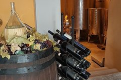 Tour of three historical wine manors: buy-wine-tour on the hills near Flore
