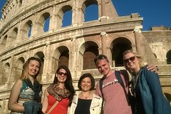 Skip-the-line Budget Tour of Colosseum Forum Titus Arch & Caesar Altar