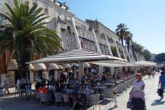 From Zadar: Klis fortress Split and Trogir
