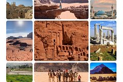 6-Days Private Fantasy Tour Around Over Jordan
